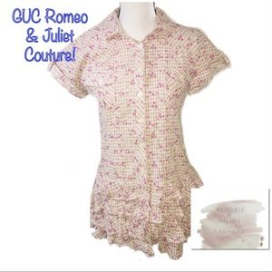 ‼️🔥GUC ROMEO & JULIET COUTURE Button Dress!🔥‼️